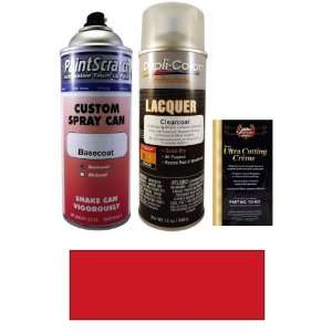 12.5 Oz. Ruby Red Metallic Spray Can Paint Kit for 2011 Porsche Cayman