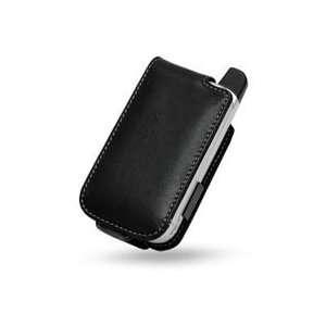 Leather Flip Case (Ver. 2) for Sprint PPC 6700 (Black
