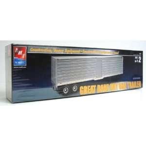 Great Dane DRY VAN TRAILER Model Kit AMT ERTL 125 Scale Toys & Games