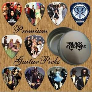 Eyed Peas Premium Guitar Picks X 10 In Tin (0) Musical Instruments