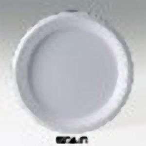 Solo® Galaxy 9 Plate, Plastic, Black 500 Plates/Case
