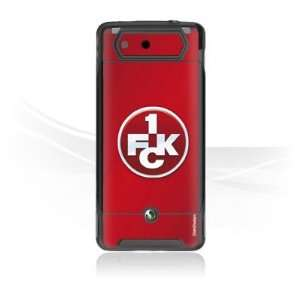 Design Skins for Sony Ericsson Xperia X1   1. FCK Logo