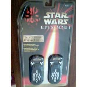 Star Wars Episode 1 Jedi Comlink Walkie Talkies Toys & Games