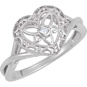 Genuine IceCarats Designer Jewelry Gift Sterling Silver .025 Ct