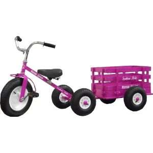 Pink Western Express Tricycle & Wagon Set Toys & Games