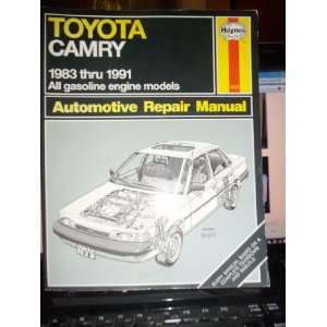 Toyota Camry 1983   1991 All Gasoline Engine Models