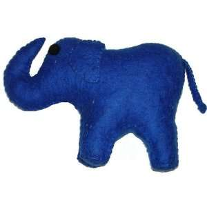 Cheppu Felt Elephant Large Toy Blue Toys & Games