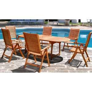 Puti Seven Piece Dining Set: Furniture & Decor
