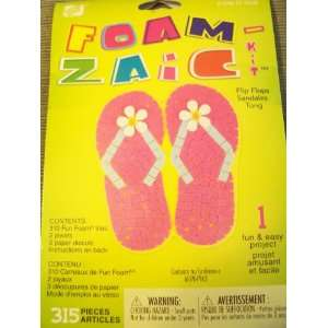WT Foam Zaic Kit ~ Sandals Westrim Crafts Toys & Games