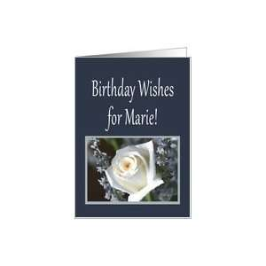 Birthday Wishes for Marie Card: Health & Personal Care