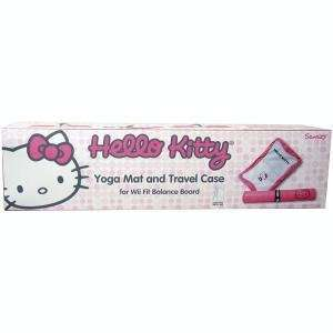 Wii Fit Hello Kitty Yoga Mat & Carrying Case