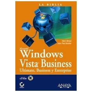 Windows Vista Business (Spanish Edition) (9788441523210