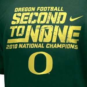 Nike Oregon Ducks Youth Green 2010 BCS National Champions