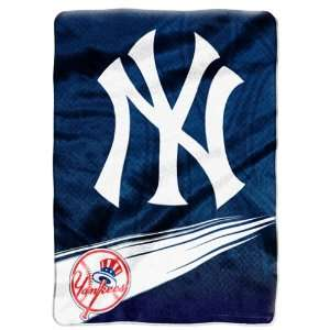 MLB New York Yankees SPEED 60x80 Super Plush Throw Sports