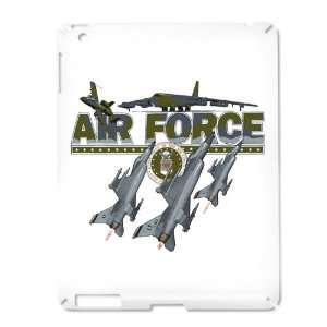 iPad 2 Case White of US Air Force with Planes and Fighter