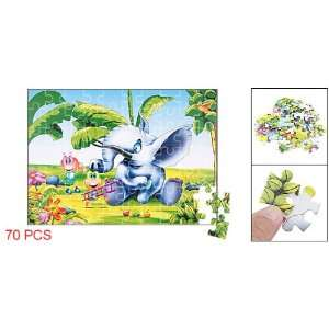 Como Kids 70Pcs Ant Elephant Tree Jigsaw Puzzle Papers Toy