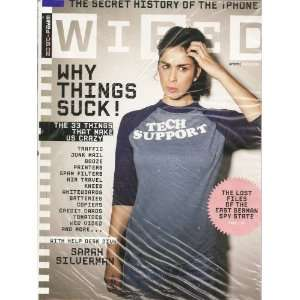Sarah Silverman Cover Why Things Suck Editors of Wired Magazine