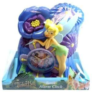 Disney Fairies Tinkerbell Bank and Alarm Clock Baby