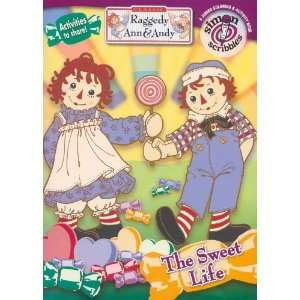Raggedy Ann & Andy The Sweet Life Activity & Coloring Book  Toys