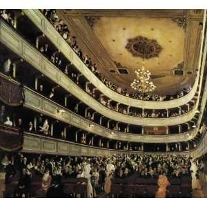 Paintings The Old Burgtheater Oil Painting Canvas Art