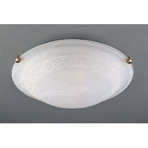 Close to Ceiling Floral Flush Mount 20 (Compact Fluorescent) Home