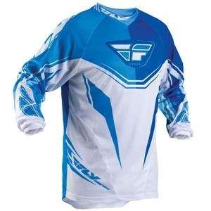 Fly Racing Youth Kinetic Jersey   Youth Large/Cobalt/Blue Automotive