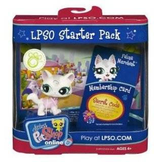 Littlest Pet Shop Online LPSO Web Game Starter Pack Felina