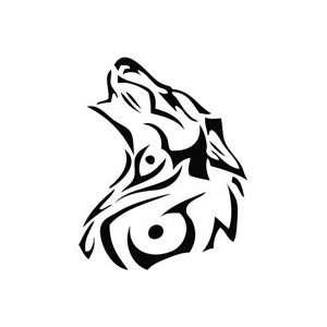Werewolf Cry   Tribal Decal Vinyl Car Wall Laptop Cellphone Sticker