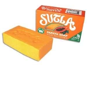 Sutla Thai Papaya Skin Whitening Soap 160g/5.3oz Beauty
