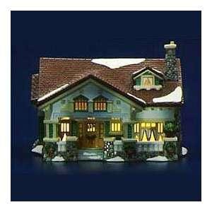 Department 56 Snow Village Craftsman Cottage