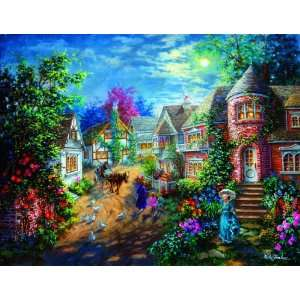 Moonlight Splendor 1000+pc Jigsaw Puzzle by Nicky Boehme