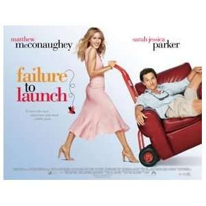 Failure To Launch   Movie Poster   12 x 16   Sarah Jessica