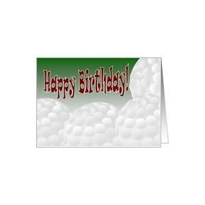 : Happy Birthday to Our Favorite Golf Star & Son! Card: Toys & Games