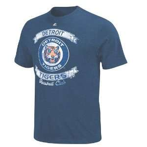 Detroit Tigers Legendary Victory Heathered T Shirt   X