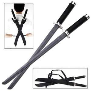 Ninja Twin Strike Force Sword Set (#EM0061SB) Everything