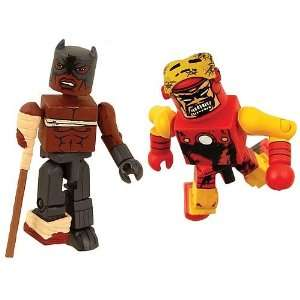 Minimates Zombies Iron Man & Black Panther Figure 2 Pack Toys & Games