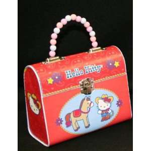 Hello Kitty Hawaiis Sweetheart Handbag Tin with Beaded