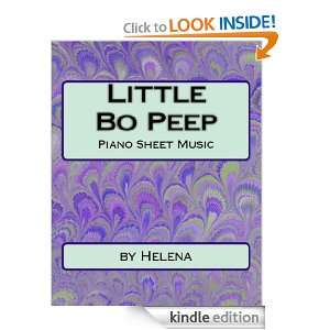 Little Bo Peep Sheet Music: Helena:  Kindle Store