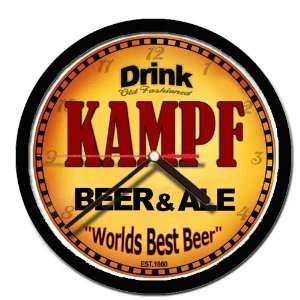 KAMPF beer and ale cerveza wall clock: Everything Else