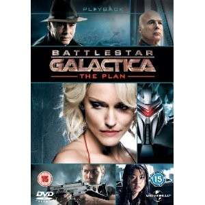 Galactica   The Plan (DVD) Tricia Helfer, Edward James Olmos   NEW