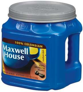 Ozbo Maxwell House Coffee 100% Colombian Ground Medium Dark   6 Pack