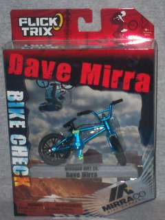 FLICK TRIX FINGERBIKE ( Dave Mirra ) MIRRACO BIKE CO.