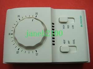 THERMOSTAT TEMPERATURE CONTROL 30C ROOM FAN AIR COOL