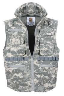 Boys Digital Camouflage Hunting Vest