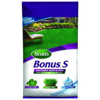 Scotts Bonus S Southern Weed & Feed Fertilizer 33010 at The Home Depot
