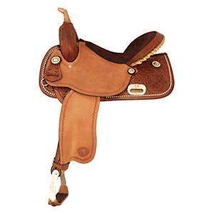 Tex Tan Go Round Barrel Saddle   Horse