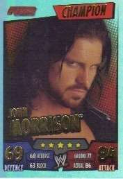 WWE Slam Attax Rumble Champion Card 05 John Morrison