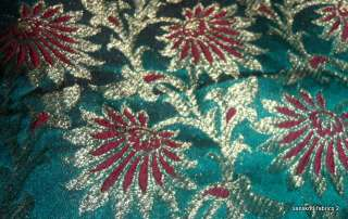 fabric brocade length approx 1 yard width approx 44 inches
