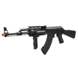 com Jing Gong AK47 Full Metal Electric Assault Rifle FPS 440 Airsoft