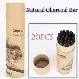 20 Pcs Natural Pencil Charcoal Bar Willow Sketch Drawing Art Artist